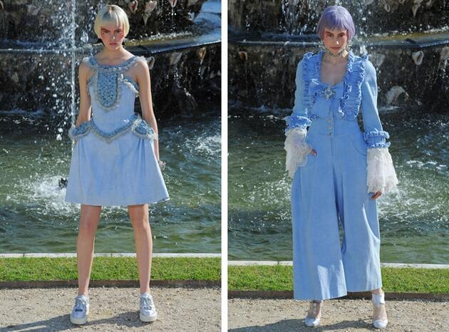 Новите дрехи на Мария Антоанета