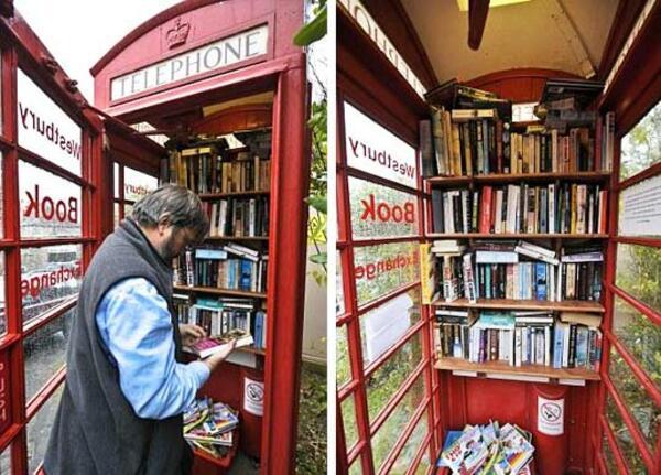 Как да освободим книгите