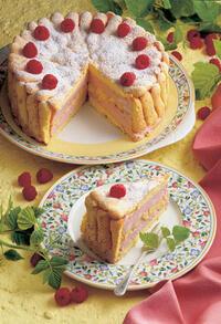 Плодова торта за начинаещи