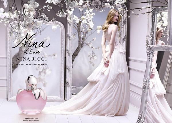 Романтика с уханието Nina L'Eau