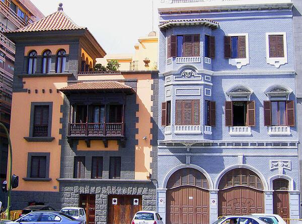 Цветните къщи на Лас Палмас