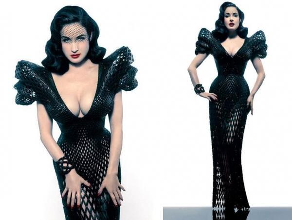 3D рокля от бъдещето