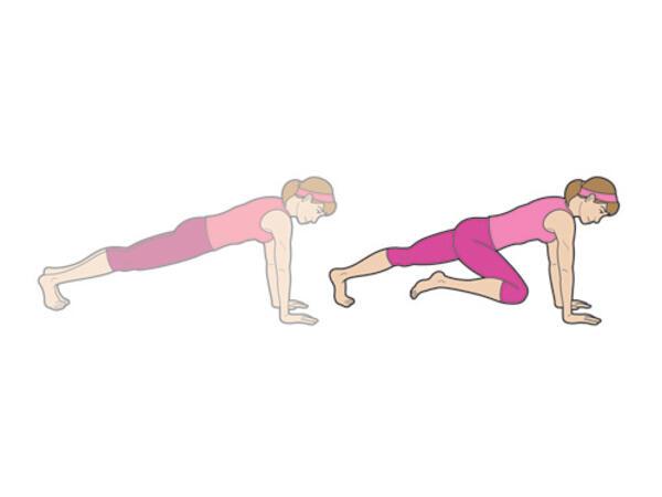 6 упражнения за плосък корем