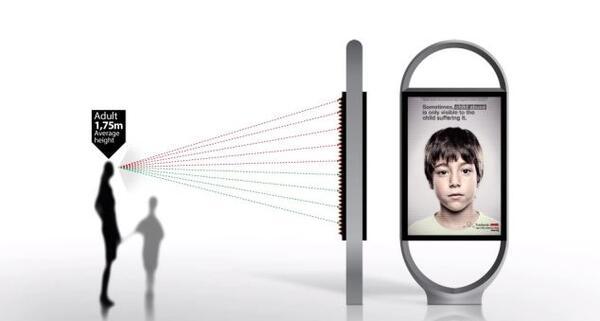 Умни плакати срещу детското насилие