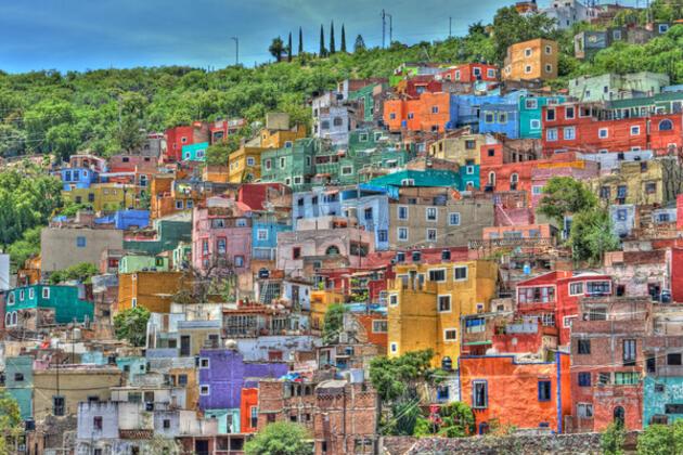 Градове за цвят и приказ
