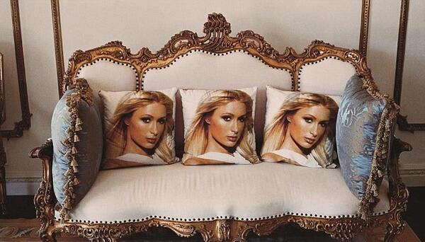 В спалнята на богаташката Парис