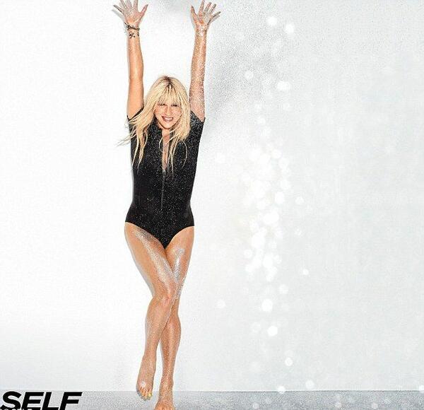 Ke$ha разкрива как поддържа фигурата си