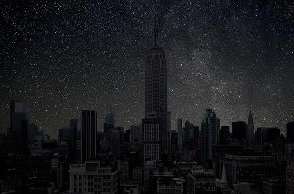 Ако мегаполисите нямаха осветление