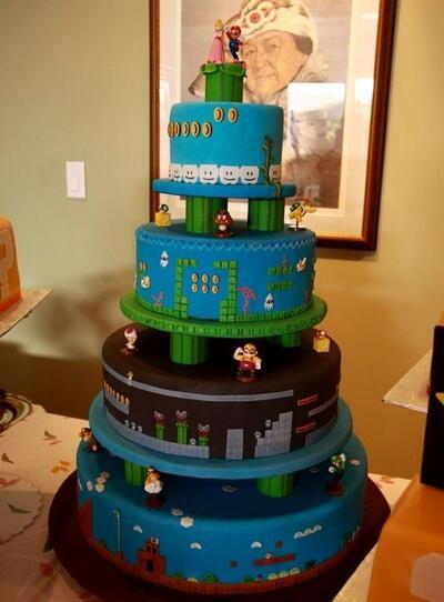 Най-забавните сватбени торти