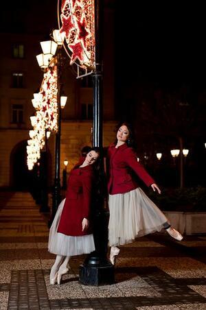 Приказка за ефирните балерини от многолюдния град